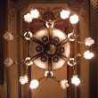 Shining chandelier — Stock fotografie