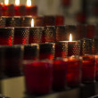 Burning candles — Stock Photo #28282435