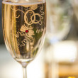 Champagne glass — Stockfoto