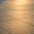 Sunset light on concrete in Berlin — Stock Photo