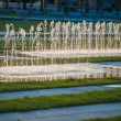 Sparkling fountains in Berlin — Foto Stock