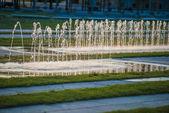 Gnistrande fontäner i berlin — Stockfoto