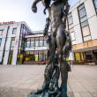 Contemporary statue in Berlin, Marzahn — Stock Photo