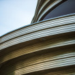 Curved detail of a building in Berlin — Stock Photo