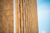 Modern beige facade in Berlin — Stock Photo