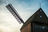 Detail of a windmill in Berlin — Foto de Stock