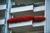 Modern apartment building in Berlin, Marzahn — Stock Photo