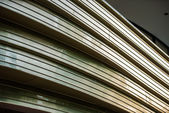 Curved detail of a building in Berlin — Foto Stock