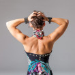Womans back and shoulders — Stock Photo #28744735