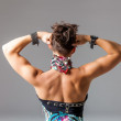 Womans back and shoulders — Stock Photo