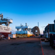 Docks at Hirtshals, Denmark — Stock Photo