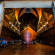 Huge ferry in dockyard — Stock Photo #29000181