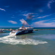 Stock Photo: Ferry at Hirtshals in Denmark