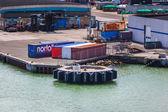Harbor of Hirtshals, Denmark — Stock Photo