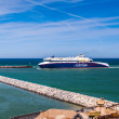 Ferry at Hirtshals in Denmark — Stock Photo