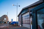 Docks at Hirtshals, Denmark — Stock Photo