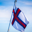 Stock Photo: Flag of Faroe Islands