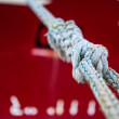 White rope — Stock Photo