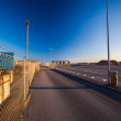 Check point at Hirtshals — Stock Photo
