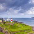Lighthouse at Torshavn on Faroe Islands — Stock Photo