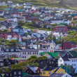 City of Torshavn, Faroe Islands — Stock Photo