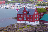 Tinganes in Torshavn, Faroe Islands — Stock Photo