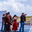 People standing on the deck of a ferry — Stock Photo #29589081