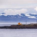 Coast of Iceland with lighthouse — Stock Photo #29624865