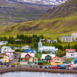 Harbor of Seydisfjoerdur, Iceland — Stock Photo