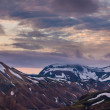 Landmannalaugar at sunrise — Stock Photo