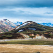 Rangy landscape at Landmannalaugar, Iceland — Stock Photo