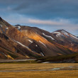 Rangy landscape at Landmannalaugar, Iceland — Stock Photo #30411611