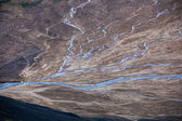 River delta at Landmannalaugar — Stock Photo