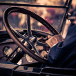 Steering wheel — Foto de Stock