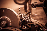 Steam-engine — Zdjęcie stockowe