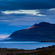 Fjord at sunset on Iceland — Stock Photo #30610847