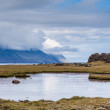 Stock Photo: Pond on Iceland