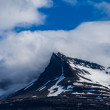 Mountain peak on Iceland — Stock Photo