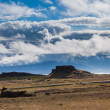 Stock Photo: Barren landsape on Iceland