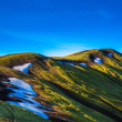 Mountain crest on Iceland — Stock Photo