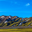 Rangy landscape in Landmannalaugar — Stock Photo #30612301
