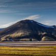 Rangy landscape in Landmannalaugar — Stock Photo