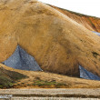 Stock Photo: Mountainside in Landmannalaugar, Iceland