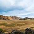 Large valley in Landmannalaugar, Iceland — Foto Stock