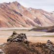 Lava formation in Landmannalaugar, Iceland — Stock Photo