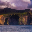 Coast of the Faroe Islands — Stock Photo