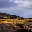 Rough landscape in Iceland — Foto Stock