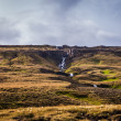Litlanesfoss waterfall on Iceland — Stock Photo
