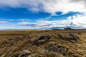 Barren landsape on Iceland — Stock Photo