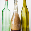 Three different bottles — Stock Photo